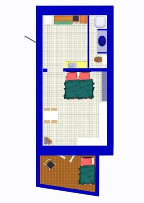 Ferienhaus Atelier - Mas des Templiers - Möblierung